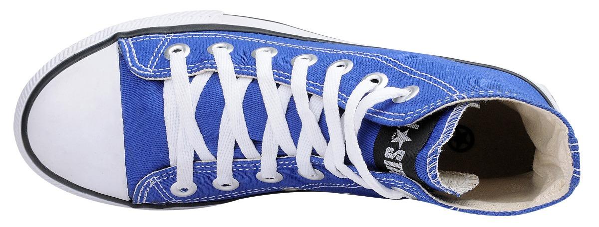 5153b19f6cf tênis converse core hi all star ct cano alto azul royal. Carregando zoom.