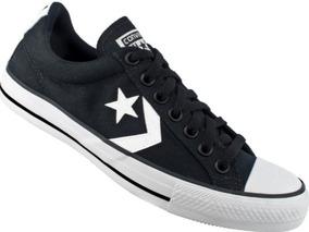 Tênis Converse Star Player Ev Ox Preto Branco Original