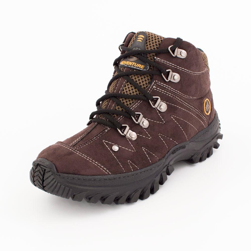 9889c72f1 tênis costurado bota adventure masculino social camurça 512x. Carregando  zoom.