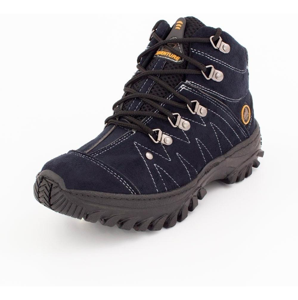 60b859ba5 tênis costurado bota adventure masculino social camurça. Carregando zoom.