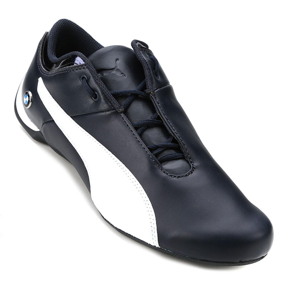 tênis couro puma bmw ms future cat masculino azul e branco. Carregando zoom. 185298543c94b