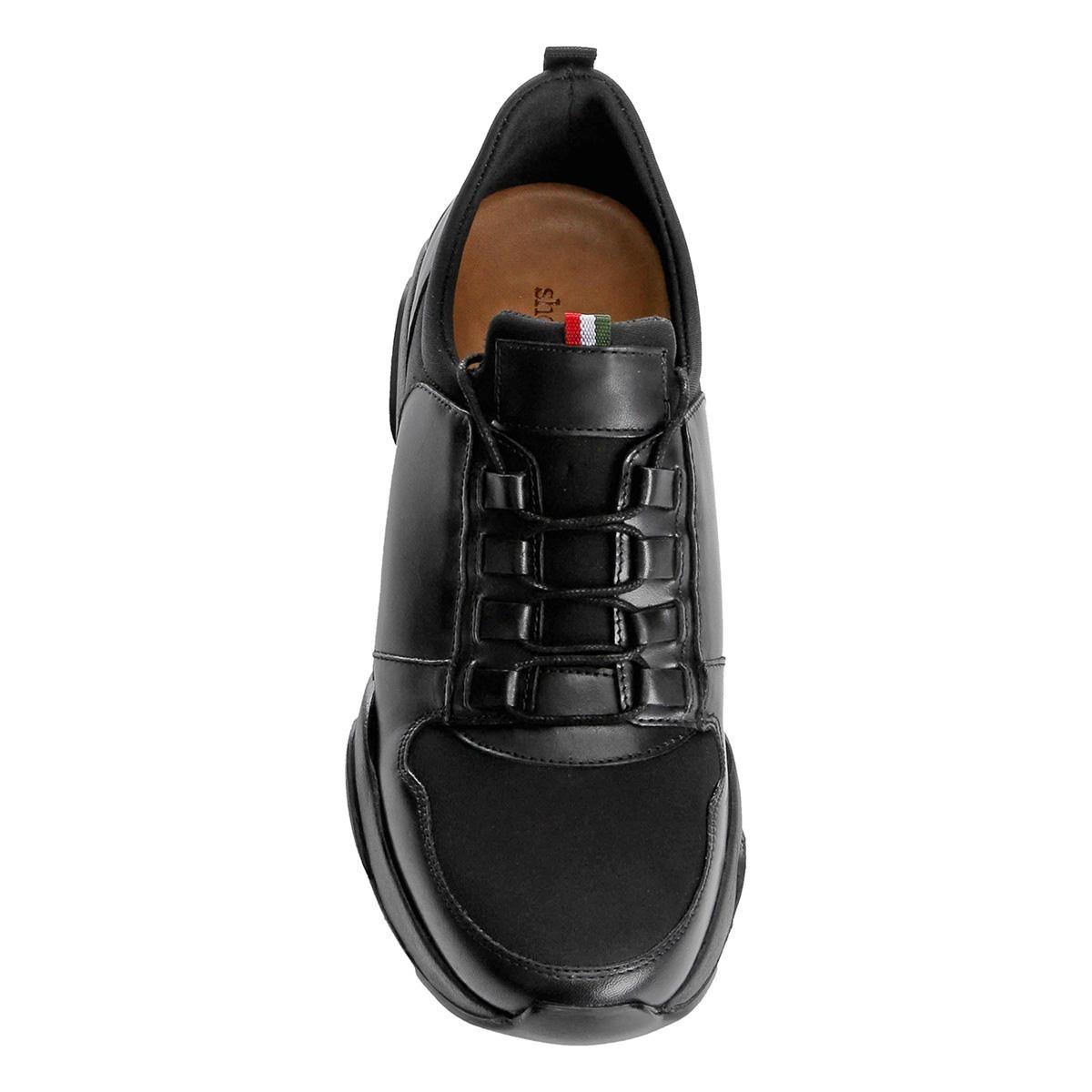 0bc233f6f7 Tênis Couro Shoestock Jogging Neoprene Masculino - R$ 199,90 em ...