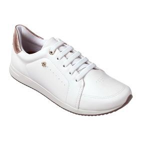 aa9e1ec76 Tenis Branco Feminino Cravo E Canela - Calçados, Roupas e Bolsas no ...