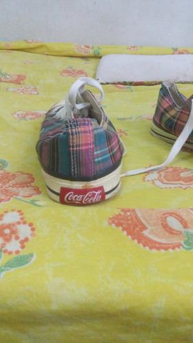 tênis da coca cola