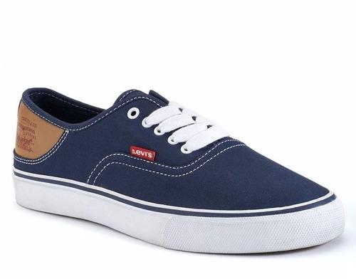 tênis da levis  jordy buck canvas sneakers