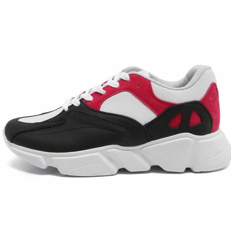 c217b18f327 Tênis Dafiti Shoes Dad Sneaker Chunky Preto vermelho Feminin - R ...