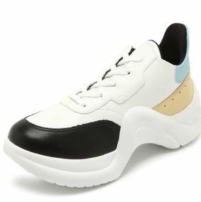 2b70bca12b4 Tênis Dafitti Dad Shoes Feminino - Branco E Azul Frete Grats