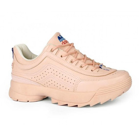 d7486b7ec1cd56 Tênis Dakota Dad Sneaker Retrô Casual G0981 - Rosa