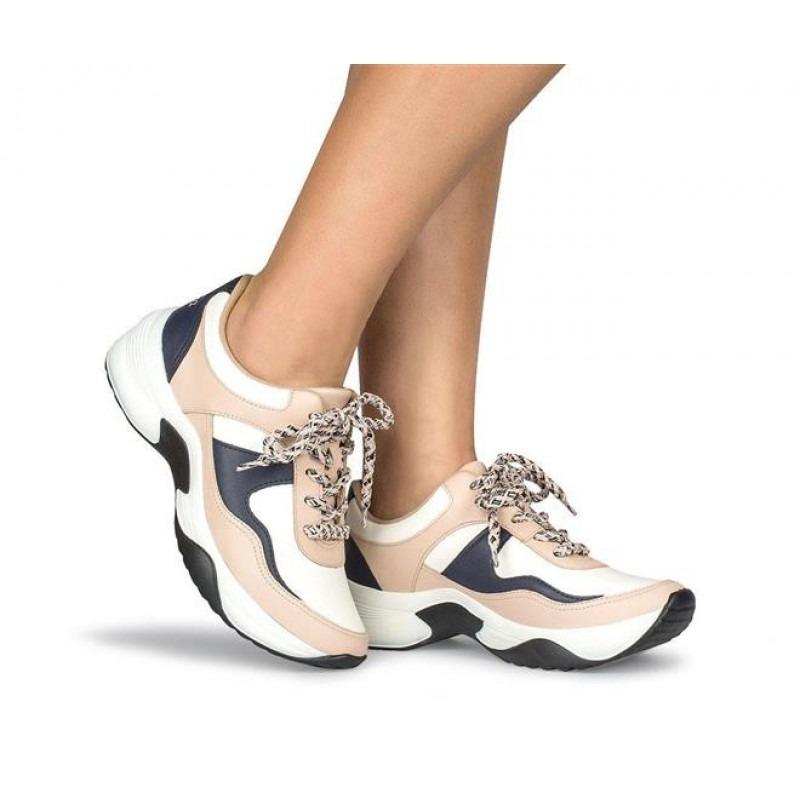fc3e5d509 tênis dakota dad sneakers feminino g0571 - branco/preto. Carregando zoom.