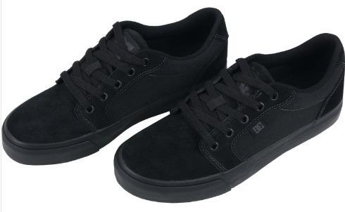 Tênis Dc Shoes Anvil 2 La Black Black - R  349 9c3dfdd0cc730