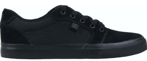 7b9d833c8dd Tênis Dc Shoes Anvil 2 La Black Black - R  349
