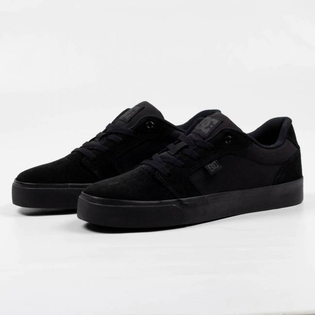 Tênis Dc Shoes Anvil La Preto Original - R  289 6fb715a5a2a08