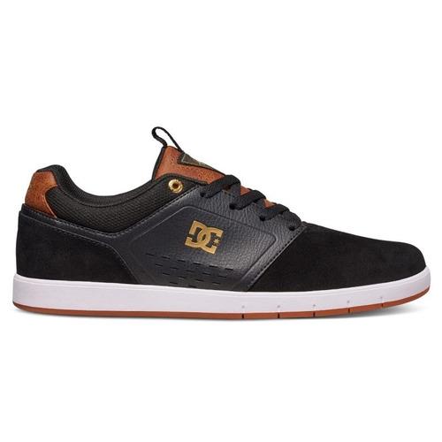tênis dc shoes cole signature black brown white