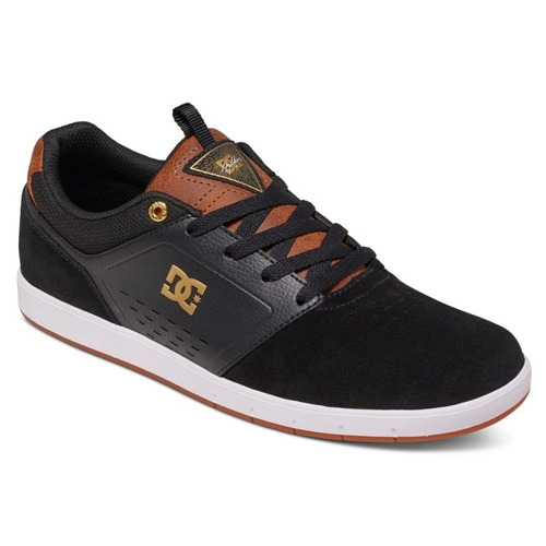 tênis dc shoes cole signature black brown white