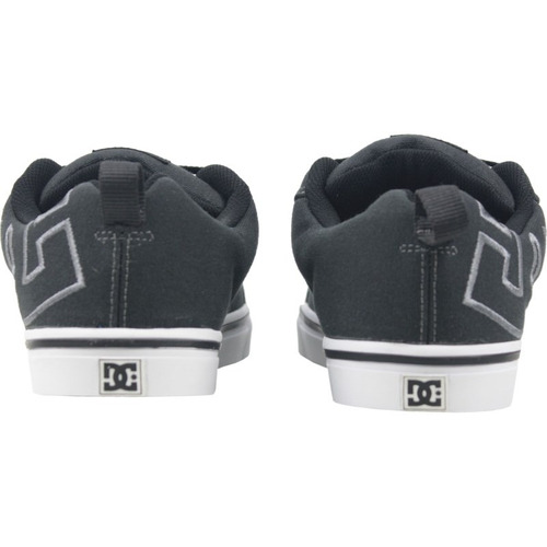 tênis dc shoes court vulc tx dark navy white