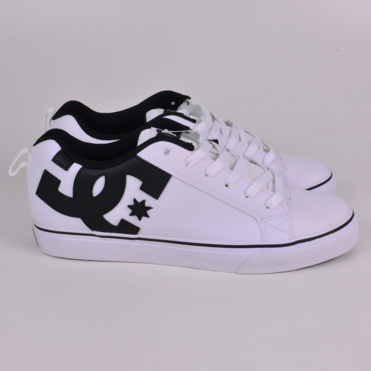 tênis dc shoes court vulc white. Carregando zoom. eb4ea706a0a55