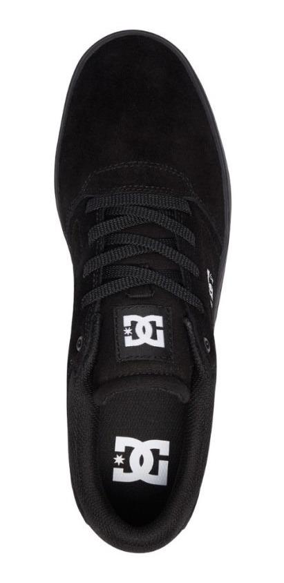 17a276e6bb Tênis Dc Shoes Crisis La Black Black White - R$ 279,90 em Mercado Livre