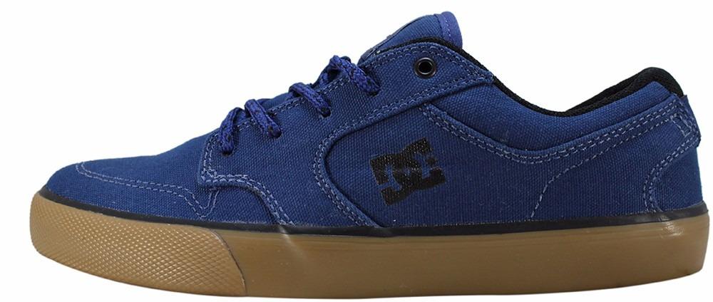 049e88bc2b tênis dc shoes skate original azul marinho nyjah huston novo. Carregando  zoom.