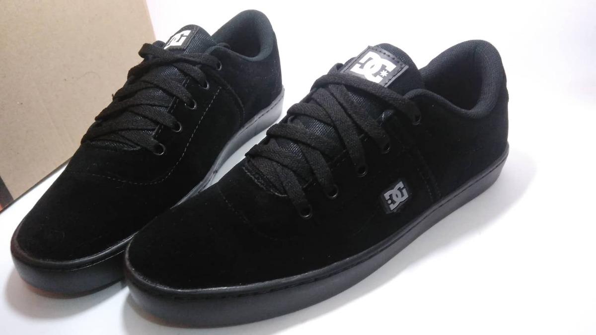 Tênis Dc Shoes Switch Skate - Preto E Marrom - Frete Grátis - R  139 ... 74feb07eb70