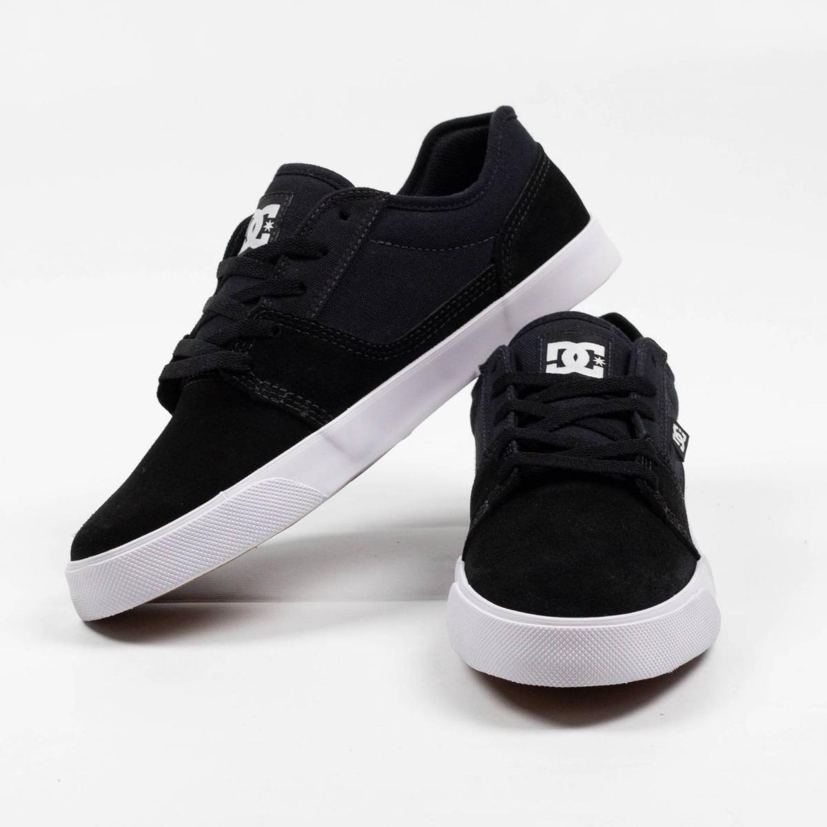 34a89d6971 tênis dc shoes tonik preto branco original. Carregando zoom.