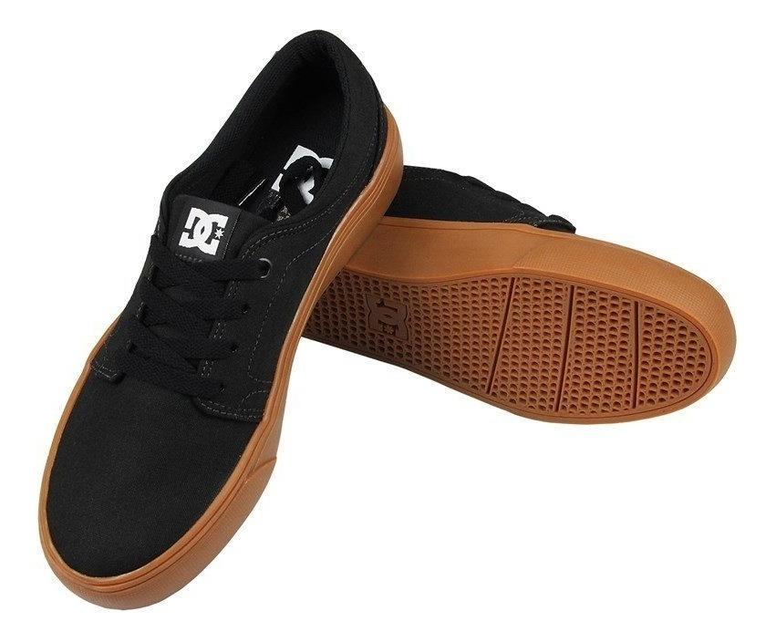 e0b7f936f5 Tênis Dc Shoes Trase Tx Black Gum - R$ 209,90 em Mercado Livre
