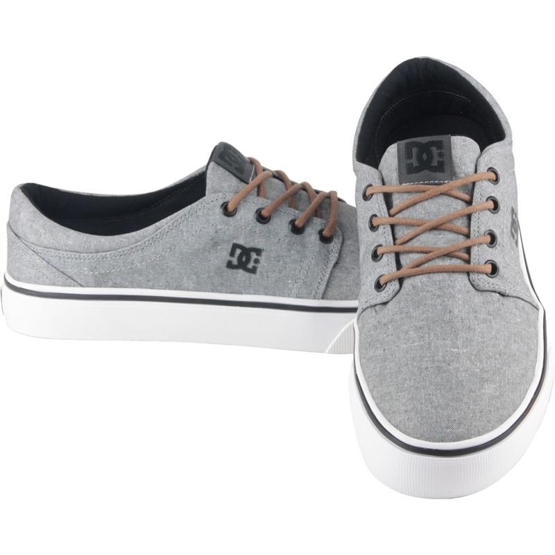 0970cdf2e6 tênis dc shoes trase tx se light grey. Carregando zoom.