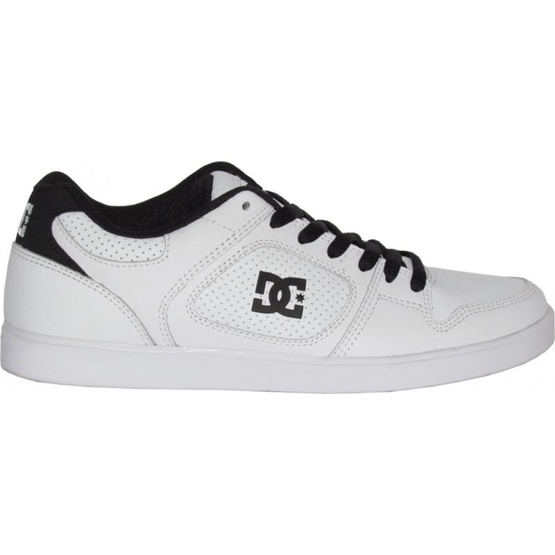tênis dc shoes union white black. Carregando zoom. 2bc9acfdb2b43