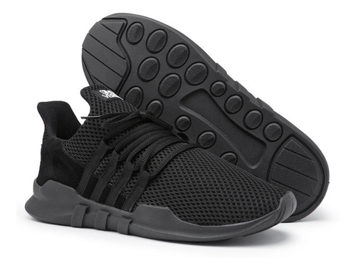 tênis de caminhada super leve calce fácil conforto dia a dia