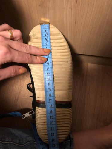 tênis de cano alto osklen - tamanho 34