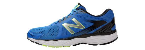 tênis de corrida new balance 680v4  masculino azul