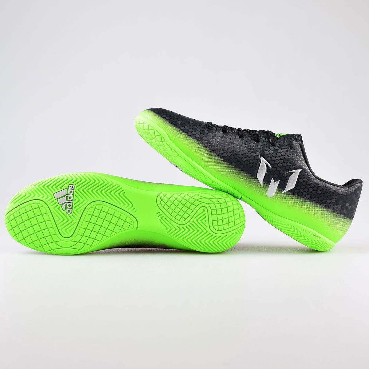 tênis de futsal chuteira adidas messi 16.4 in original +nf. Carregando zoom. e5b4ebb9e78e4