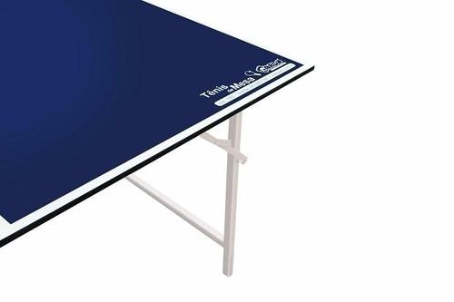 tênis de mesa oficial - mdf - carlu