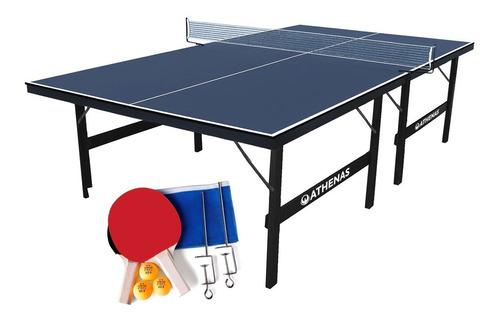 tênis de mesa ping pong oficial 15mm completa com rede kit
