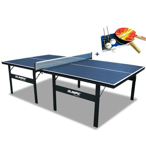 tênis de mesa ping pong oficial klopf + rede raquetes bolas
