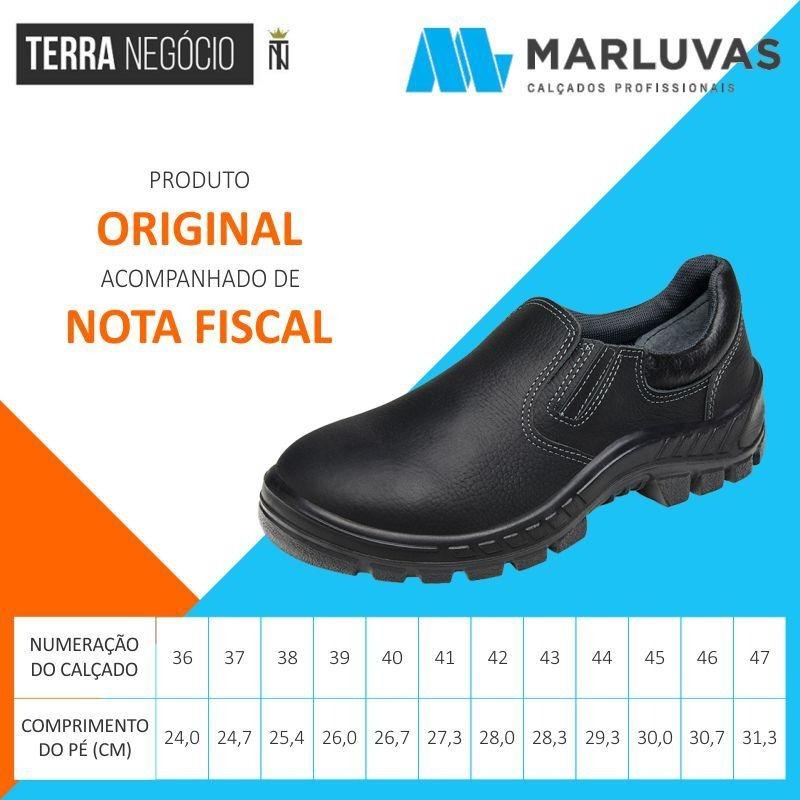 d5b44236a Tênis De Segurança Epi Sapato Eletricista Marluvas 50t19 Bp - R$ 129 ...