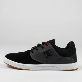 ca8f5a99d4 Tênis De Skate Dc Shoes Plaza Tc Preto branco Original