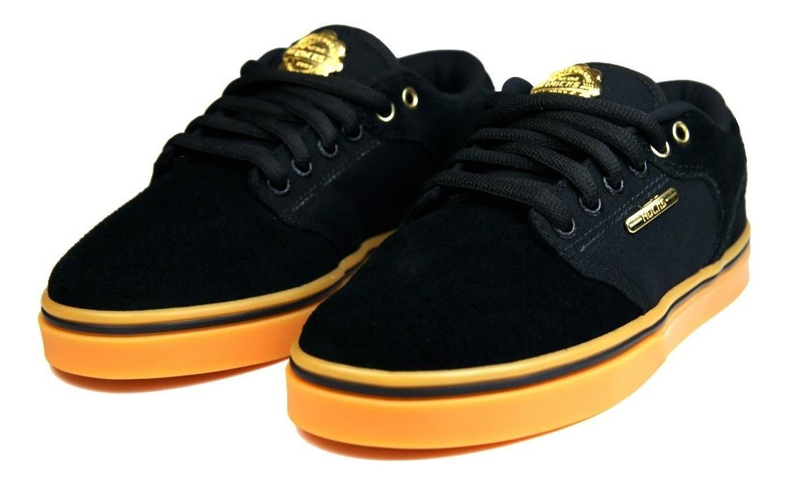bcd532488a tênis de skate hocks montreal black/gun preto e dourado. Carregando zoom.