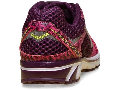 tênis diadora fenix roxo/pink 125504