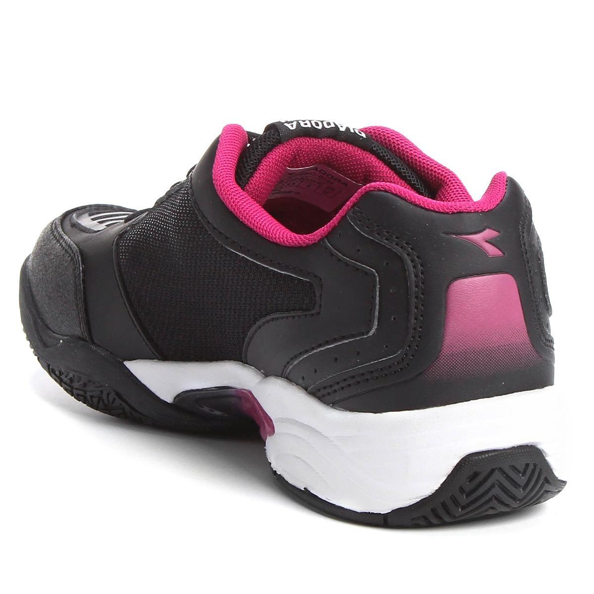 2b5c2ef98a9 Tênis Diadora Hi Supreme 3 Feminino - Cor Preto+pink - R  129