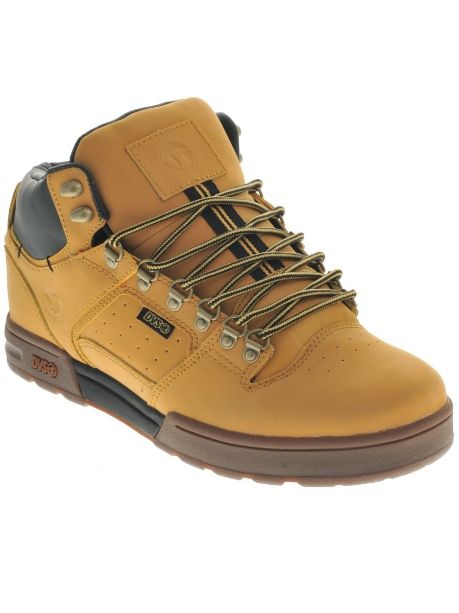 Tênis Dvs Westridge Boot Tan Nubuck Classic Skate - R  449 e8852ab2f3180