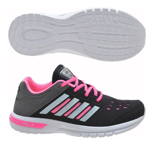 tênis esportivo feminino caminhada corrida academia fxb novo