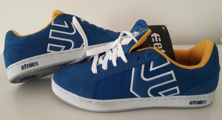 07be777eb5 Tênis Etnies Fader Ls Azul E Branco. (tam39 40 41 42) Skate. - R  149