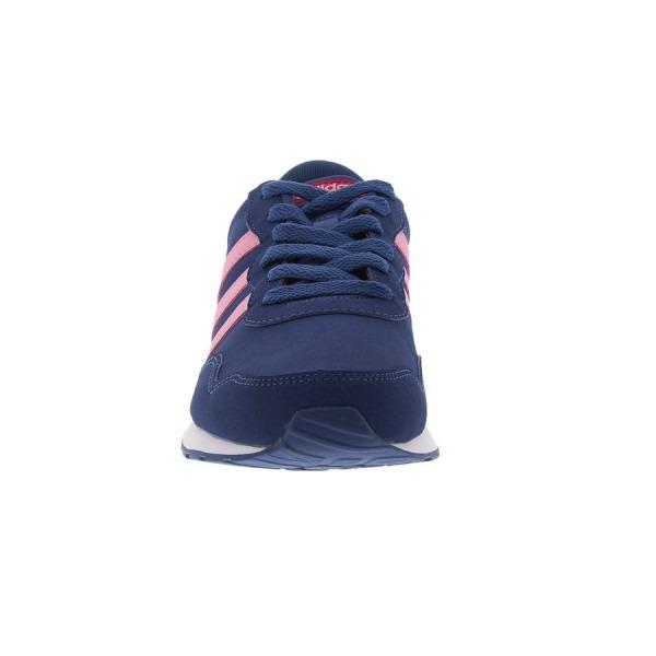 9f828d1cac Tênis Feminino Azul E Rosa adidas Neo V Jog K - R  229