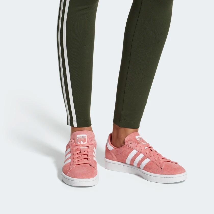 prezzo basso scarpe originali prezzo competitivo Tênis Feminino adidas Campus Rosa Original - Footlet