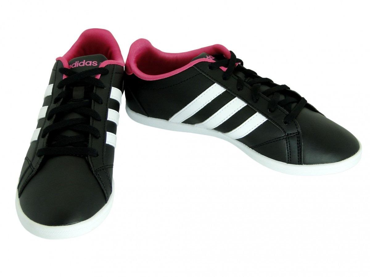 tenis adidas preto rosa
