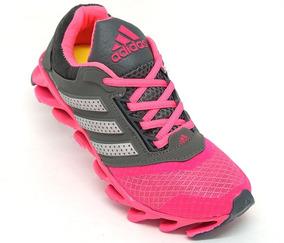 buy popular 0b2ab 10e54 Tênis Feminino adidas Springblade Drive Cinza E Rosa