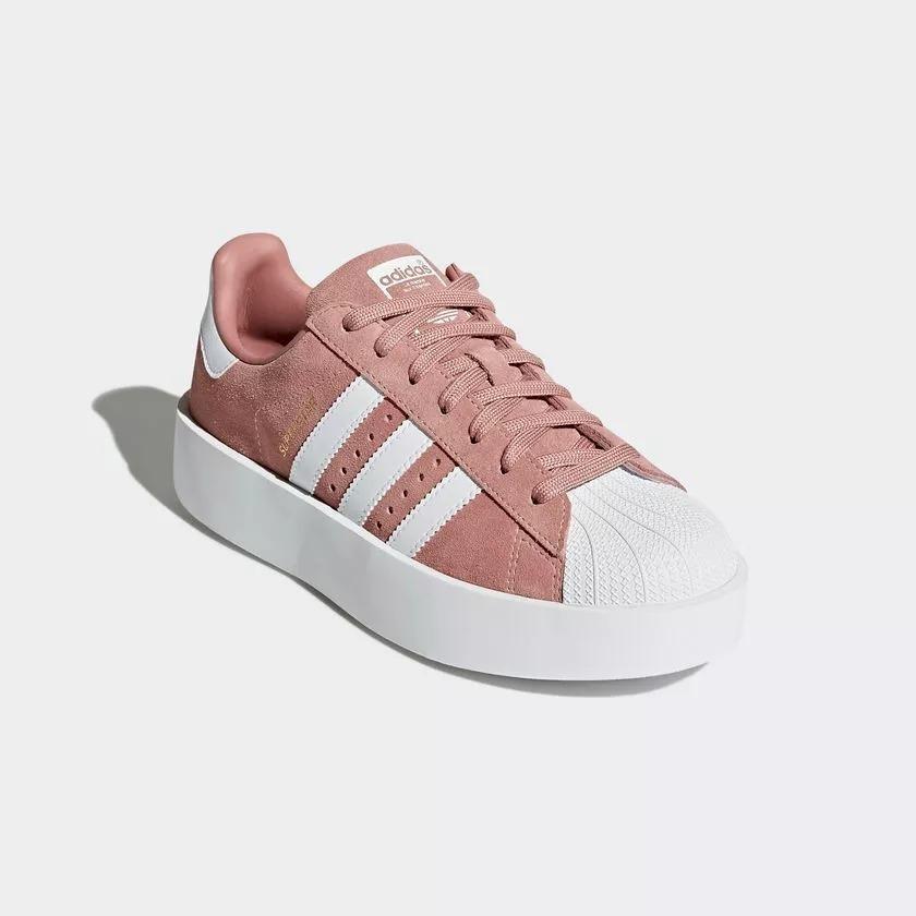ca2689a1da tênis feminino adidas superstar bold pink original - footlet. Carregando  zoom.