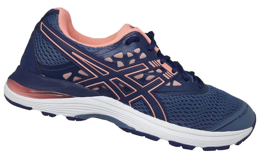 643fb3452f5 tênis feminino asics gel pulse 9 a - azul e rosa. Carregando zoom.