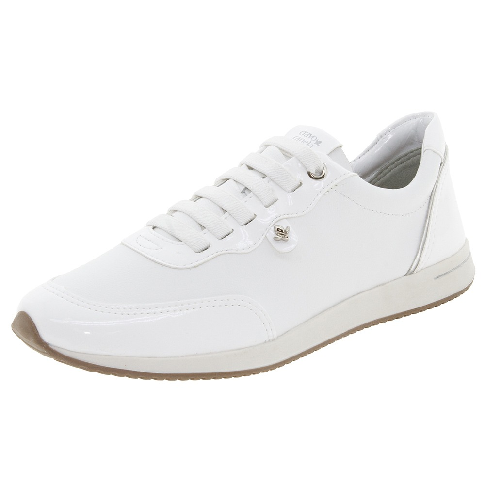 d86a2f7789 tênis feminino branco cravo   canela - 9760821. Carregando zoom.