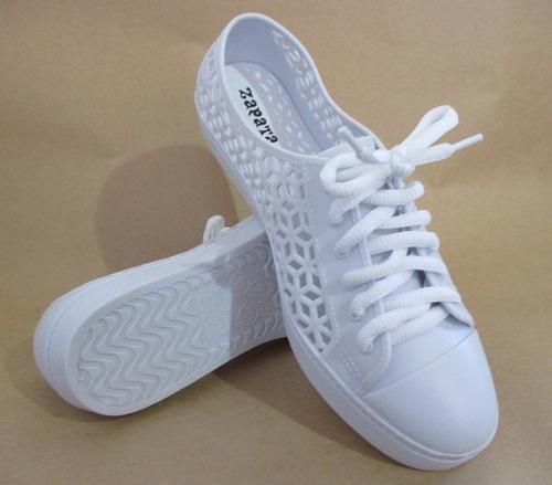 tênis feminino branco - ref jm r.119